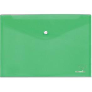 Φάκελος κουμπί Α4 Typotrast Πράσινος