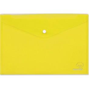 Φάκελος κουμπί Α4 Typotrast Κίτρινος