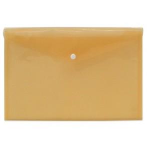 Φάκελος κουμπί Α4 Typotrast Πορτοκαλί