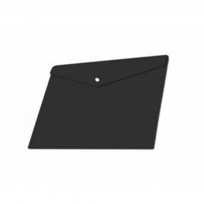 Φάκελος κουμπί Α4 Typotrast Μαύρος