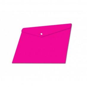 Φάκελος κουμπί Α4 Typotrast Ροζ