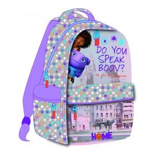 Τσάντα Δημοτικού Οβάλ Home 345-00031