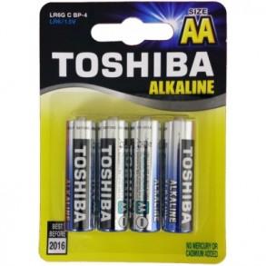 Μπαταρίες Toshiba AA LR06 Alkaline