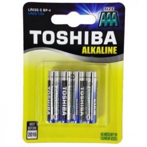 Μπαταρίες Toshiba AAA LR03 Alkaline
