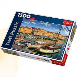 Παζλ Trefl:Old Port in Saint Tropez 1500 pcs (817-26130)
