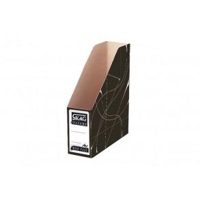 Κουτί  Kοφτό - Magazine Box Κλασικό Μαύρο