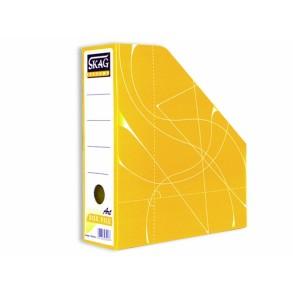 Κουτί  Kοφτό - Magazine Box  Κλασικό Κίτρινο