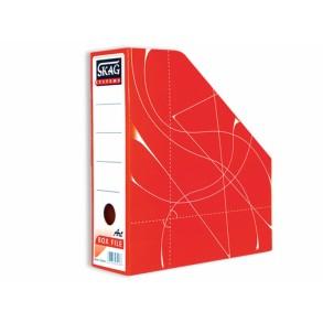 Κουτί  Kοφτό - Magazine Box  Κλασικό Κόκκινο