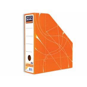 Κουτί  Kοφτό - Magazine Box Fancy Πορτοκαλί