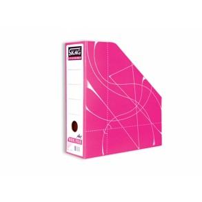 Κουτί  Kοφτό - Magazine Box Fancy Ροζ