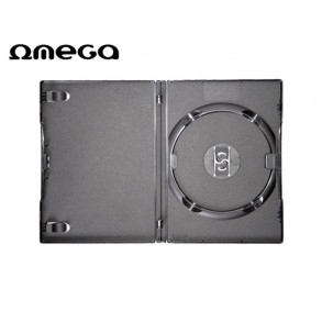 DVD CASE OMEGA 14mm 1Θ. ΚΕΝΗ ΜΑΥΡΗ  40388