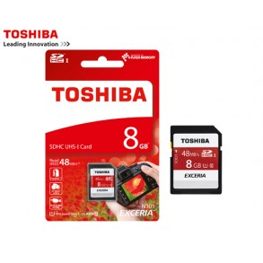 TOSHIBA ΜΝΗΜΗ SDHC 8GB CLASS 10
