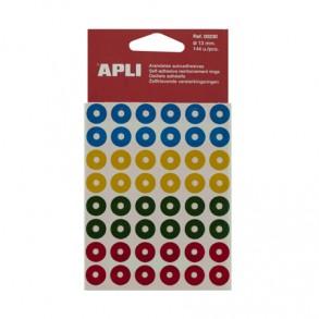 Ροδέλλα χρωματιστή 13mm APLI 144τ.