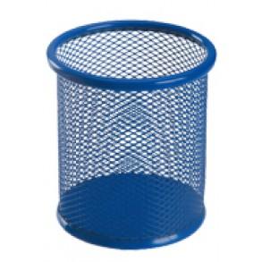 Μολυβοθήκη Στρογγυλή Μεταλλική Deli Μπλε