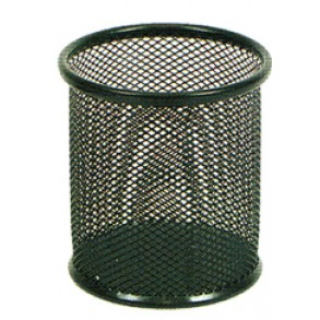 Μολυβοθήκη Μεταλλική Metron 9x10cm Μαύρη