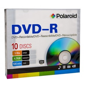 Polaroid DVD-R 4,7GB 16X 1 Slim