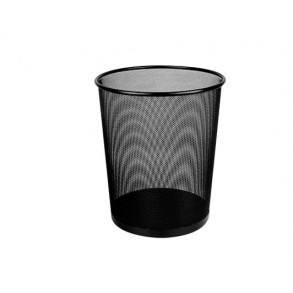 Καλάθι Αχρήστων  Μεταλλικό Deli  26.6x28cm  Μαύρο
