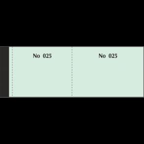Μπλοκ Ταμείου - Λαχνοί 1-100 Πράσινοι Typotrast
