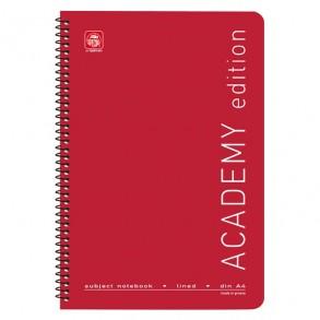 Τετράδιο SPECIAL ACADEMY Σπιράλ 2 Θεμ. Α4 Κόκκινο