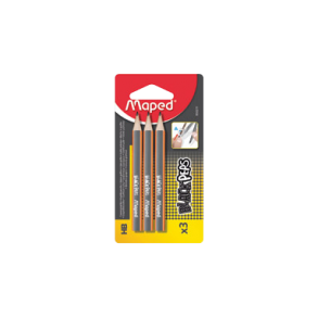 Μολύβι Maped Black'Peps mini σετ 3