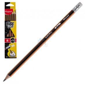Μολύβι Maprd Black'Peps με Γόμα Β