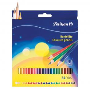 Ξυλομπογιές Pelikan BSLN 24 Χρώματα