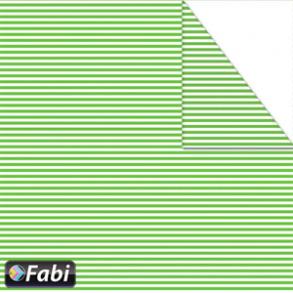Χαρτόνι μίνι ριγέ 2 όψεων 50χ70cm πράσινο