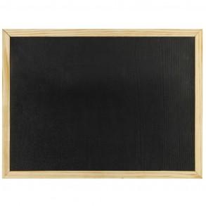 Πίνακας κιμωλίας μαύρος 30x40cm.