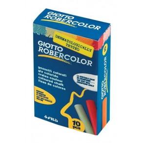 Κιμωλίες Giotto robercollor χρωματιστές 10τμχ.