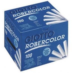 Κιμωλίες Giotto robercollor λευκές 100τμχ
