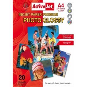 Φωτογραφικό Χαρτί Active Jet Glossy 180gr
