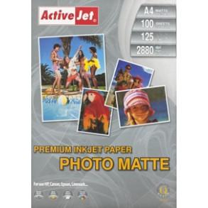 Φωτογραφικό Χαρτί Active Jet Matte 125gr