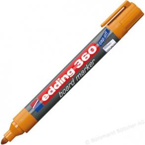 Μαρκαδόρος λευκού πίνακα edding 360 πορτοκαλί