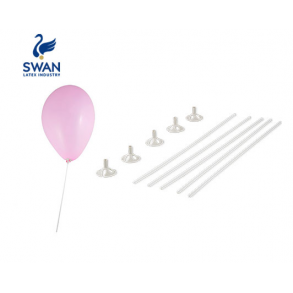 SWAN Καλαμάκια και βάσεις στήριξης μπαλονιών