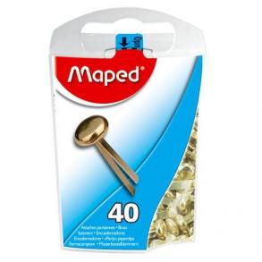 Διπλόκαρφα-Συνδετήρες δυσκελείς  Maped 40 τεμαχίων