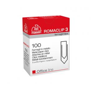 Συνδετήρες Εγγράφων Ro-ma CLIP Nο 3