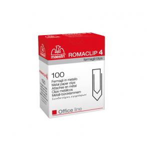 Συνδετήρες Εγγράφων Ro-ma CLIP Nο 4