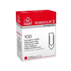 Συνδετήρες Εγγράφων Ro-ma CLIP Nο 2 100Τ