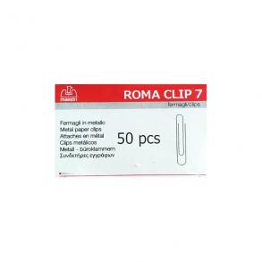 Συνδετήρες Εγγράφων Ro-ma CLIP Nο7 50Τ
