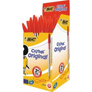Στυλό διαρκείας ΒΙC Cristal κόκκινο