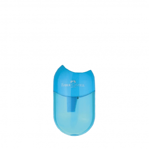 Faber Castell  ξύστρα apple μπλε μονή