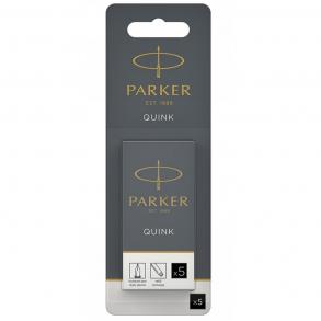 Parker Αμπούλα Μελάνης Μεγάλη Μαύρο 1χ5