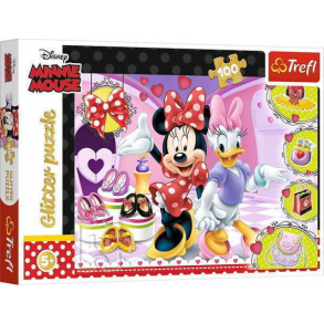 Παζλ Trefl:Glitter Minnie  100pcs 14820