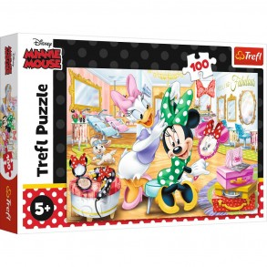 Παζλ Trefl:Minnie In Beauty Parlous 100pcs 16387