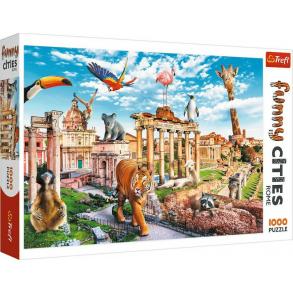 Παζλ Trefl:Funny Cities Wild Rome 2D  1000pcs 10600