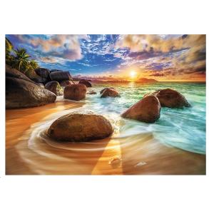 Παζλ Trefl:Samudra Beach, India 1000pcs 10461