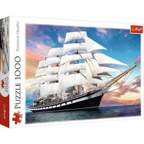 Παζλ Trefl:Cruise Black 2D 1000pcs 10604