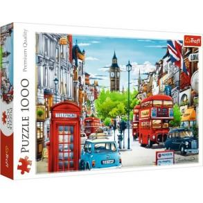 Παζλ Trefl:London Street 2D 1000pcs 10557