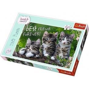 Παζλ Trefl:Cat Friendship 260pcs 13215
