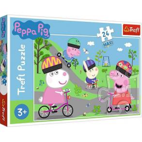 Παζλ Trefl:Peppa Pig 24pcs Maxi 14330
